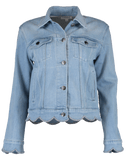 FRAME DENIM CLOTHINGJACKETMISC Scallop Edge Jacket