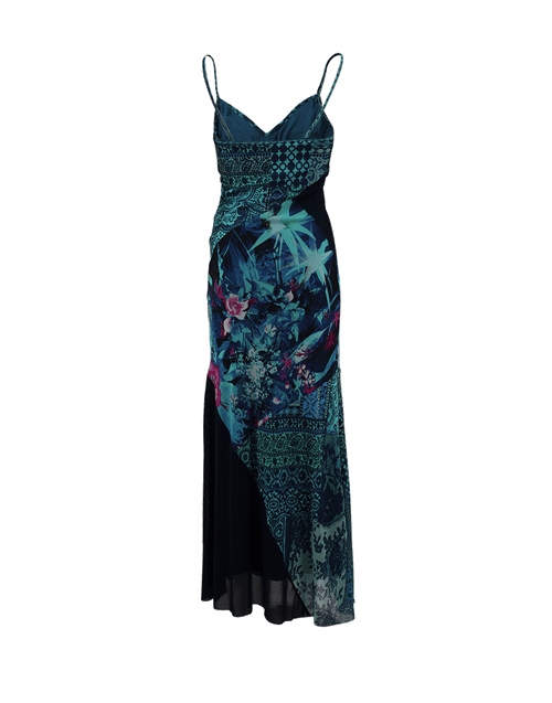 FUZZI CLOTHINGDRESSCASUAL Multi Print Tank Maxi Dress