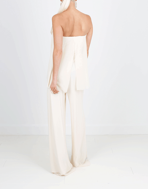 FUZZI CLOTHINGMISC Strapless Jumpsuit