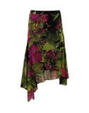 FUZZI CLOTHINGSKIRTKNEE LENGT Printed Skirt
