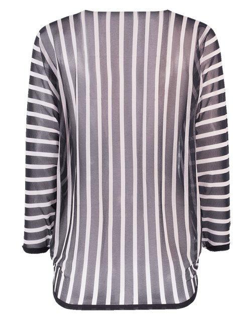 FUZZI CLOTHINGTOPCARDIGAN Striped Cardigan