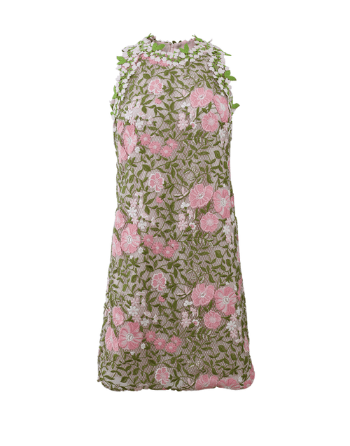 GIAMBATTISTA VALLI CLOTHINGDRESSCASUAL Macrame Floral Dress