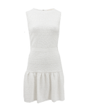 GIAMBATTISTA VALLI CLOTHINGDRESSCASUAL Sleeveless Flounce Hem Dress