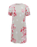 GIAMBATTISTA VALLI CLOTHINGDRESSMISC Short Sleeve Floral Print Shift Dress