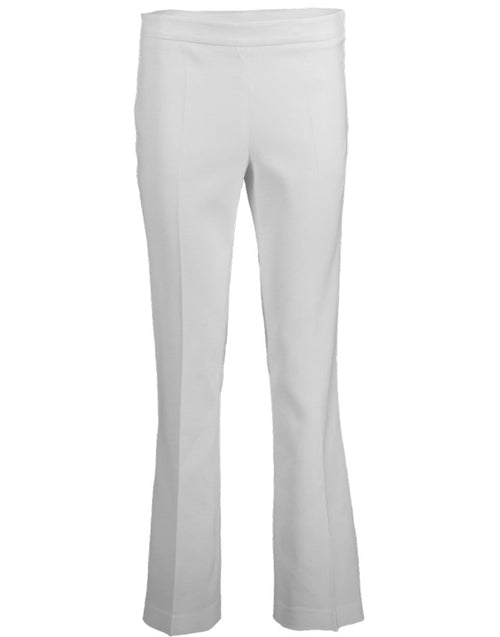 GIAMBATTISTA VALLI CLOTHINGPANTMISC Ivory Side Zip Trousers