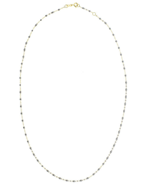 GIGI CLOZEAU JEWELRYBOUTIQUENECKLACE O YG/GREY Grey Bead Classic Gigi Necklace