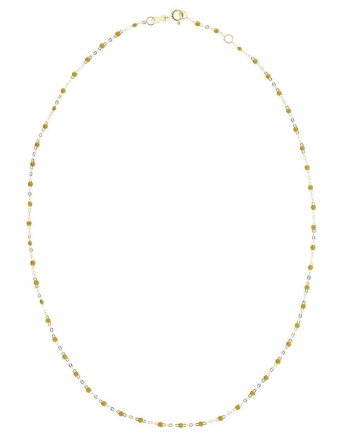 GIGI CLOZEAU JEWELRYBOUTIQUENECKLACE O YG/KHKI Khaki Green Bead Classic Gigi Necklace