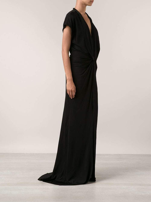 GIVENCHY CLOTHINGDRESSGOWN Front Slit Gown