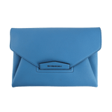 GIVENCHY HANDBAGSHOULDER SKYBLUE Antigona Envelope Clutch