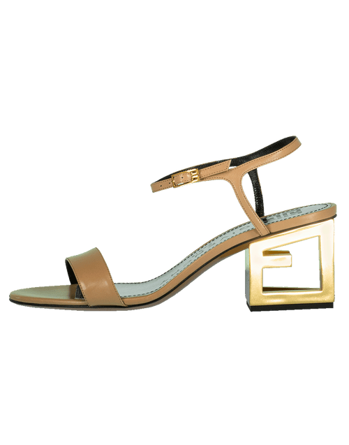 GIVENCHY SHOESANDAL Triangle Heel Sandal