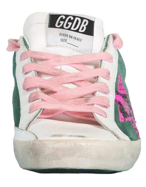 GOLDEN GOOSE SHOEMISC Superstar Fuschia Star Sneaker