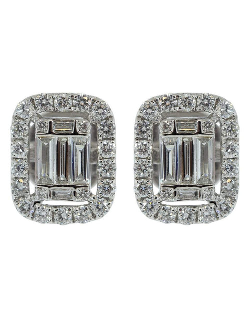 GRAZIELA JEWELRYFINE JEWELEARRING WHTGOLD Ascension White Diamond Studs