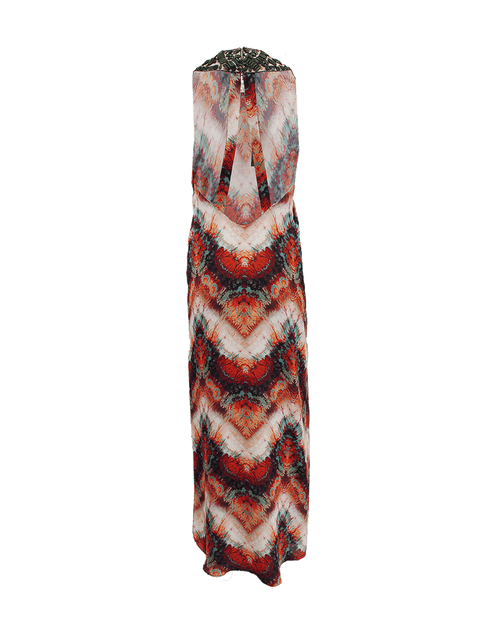 HAUTE HIPPIE CLOTHINGDRESSCASUAL Beaded Neckline Maxi Dress