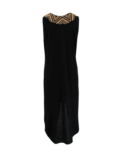 HAUTE HIPPIE CLOTHINGDRESSCASUAL Embellished High Low Dress