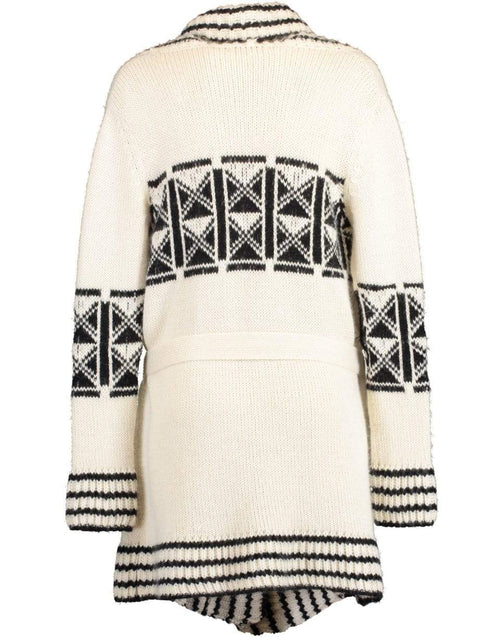 HAUTE HIPPIE CLOTHINGTOPCARDIGAN WHITE / XS/S Intarsia Cardigan
