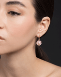IRENE NEUWIRTH JEWELRY JEWELRYFINE JEWELEARRING ROSEGOLD Carved Pink Opal Earrings
