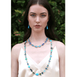 IRENE NEUWIRTH JEWELRY JEWELRYFINE JEWELEARRING YLWGOLD Turquoise Long Drop Earrings