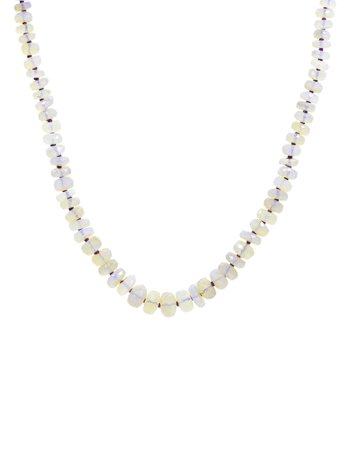 IRENE NEUWIRTH JEWELRY JEWELRYFINE JEWELNECKLACE O ROSEGOLD Faceted Opal Necklace