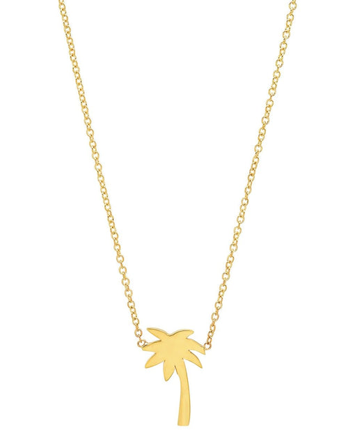 JENNIFER MEYER JEWELRYFINE JEWELNECKLACE O YLWGOLD MIni Palm Tree Necklace