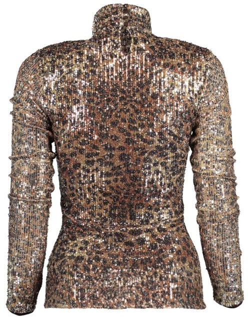 JONATHAN SIMKHAI CLOTHINGTOPMISC Greta Sequin Long Sleeve Turtleneck