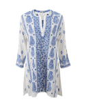 JULIET DUNN CLOTHINGMISC Paisley Embroidered Caftan