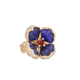 KATHERINE JETTER JEWELRYFINE JEWELRING YLWGOLD / 6.5 Opal Flower Ring