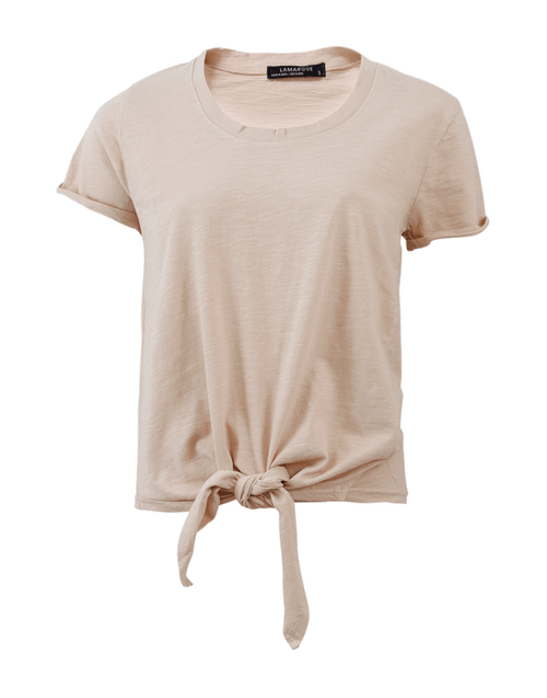 LAMARQUE CLOTHINGTOPT-SHIRT Knotted Tee