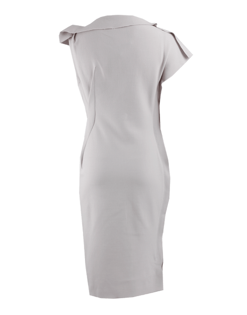 LANVIN CLOTHINGDRESSCASUAL Cap Sleeve Bias-Dart Fitted Dress