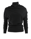LANVIN CLOTHINGTOPKNITS Long Sleeve Turtle Neck Cashmere Sweater