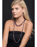 LARKSPUR & HAWK JEWELRYFINE JEWELNECKLACE O SILVER Bella Graduated Long Riviere Necklace