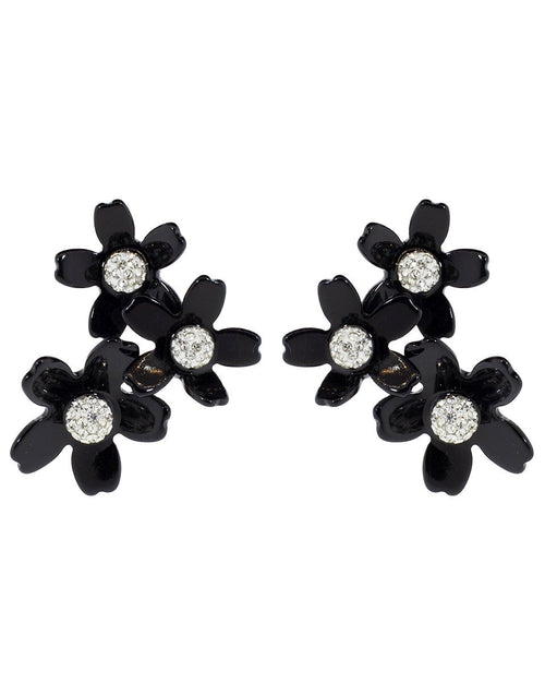 LELE SADOUGHI DESIGNS JEWELRYBOUTIQUEEARRING JET Garden Bouquet Button Earrings