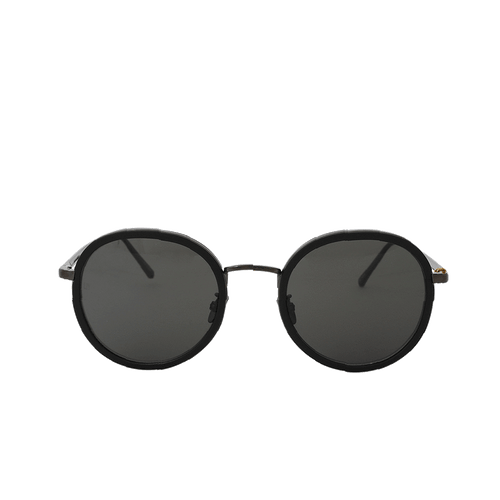LINDA FARROW ACCESSORIESUNGLASSES BLK/GRY Round Sunglasses