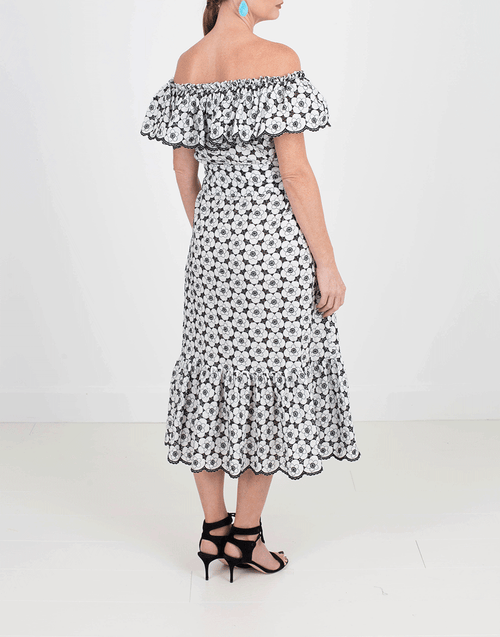 LISA MARIE FERNANDEZ CLOTHINGDRESSCASUAL Mira Eyelet Dress