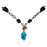 LOTUS ARTS de VIVRE JEWELRYFINE JEWELNECKLACE O SILVER Free Form Turquoise Necklace