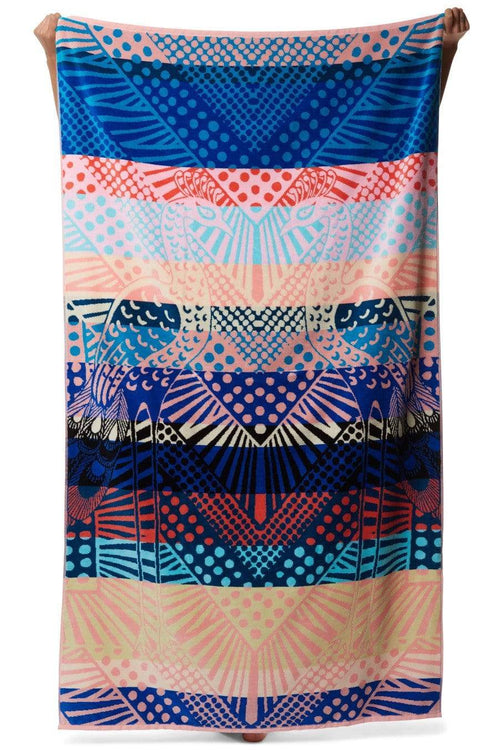 MARA HOFFMAN ACCESSORIEMISC MULTI Peacock Beach Towel