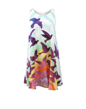 MARA HOFFMAN CLOTHINGDRESSCASUAL WHITE / L Prismatic Swing Dress