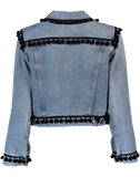 MARC JACOBS CLOTHINGJACKETMISC Shrunken Pom Pom Jacket
