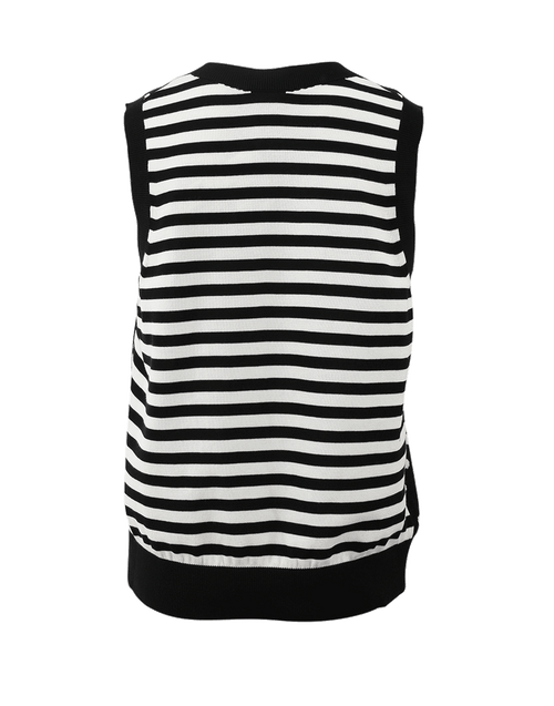 MARC JACOBS CLOTHINGTOPMISC Spot And Striped Sweater Vest