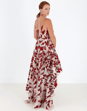MARCHESA NOTTE CLOTHINGDRESSGOWN Floral Embroidered Gown