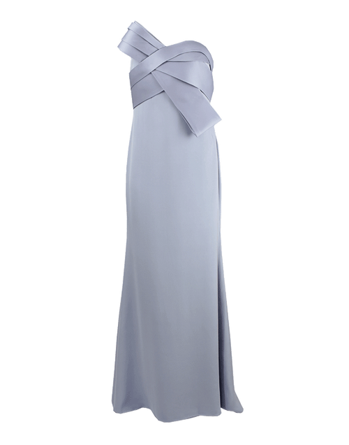 MARCHESA NOTTE CLOTHINGDRESSGOWN Strapless Origami Bust Gown