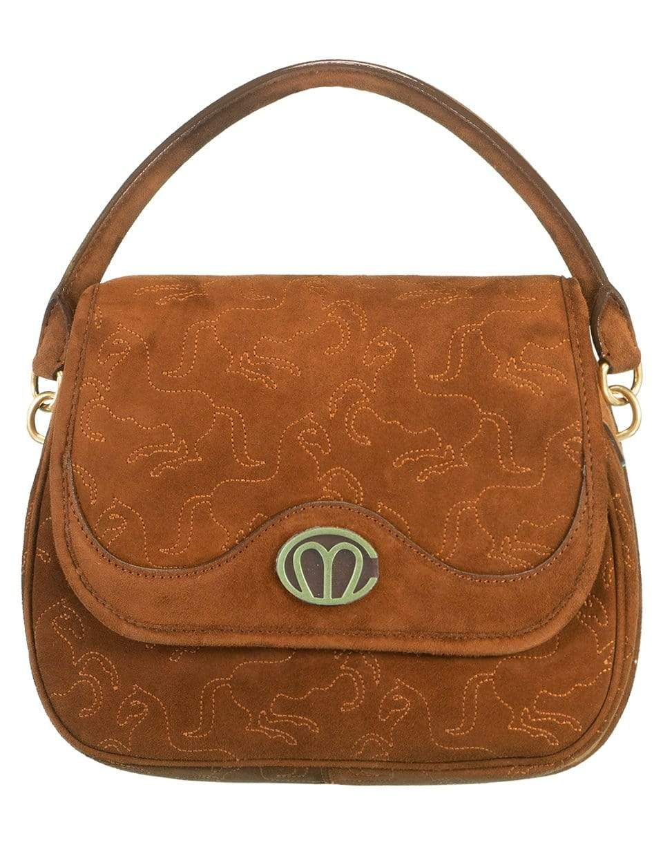 Image of Christy Small Suede Bag