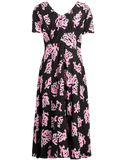 MARNI CLOTHINGDRESSMISC Pink Coral Print Dress