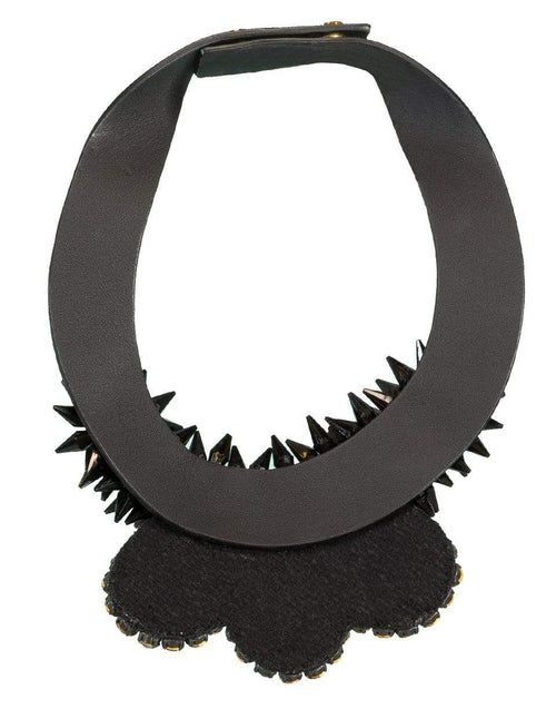 MARNI JEWELRYBOUTIQUENECKLACE O BLACK Horn Collar Necklace