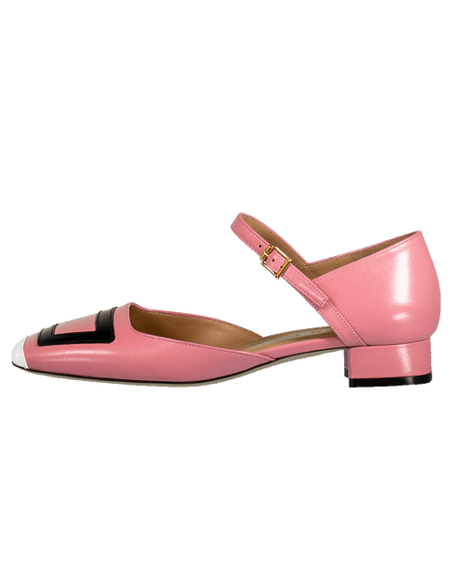 MARNI SHOEFLAT SHOE Leather Mary Jane