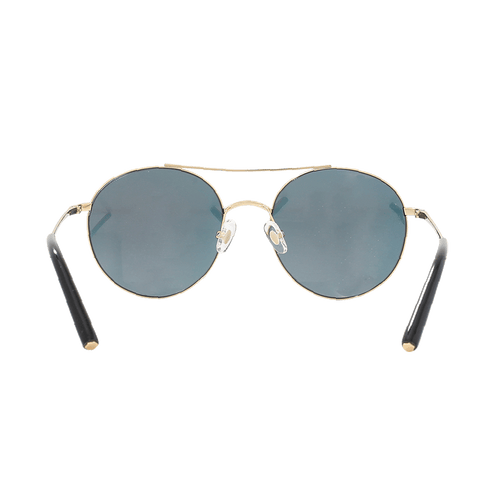 MATTHEW WILLIAMSON ACCESSORIESUNGLASSES GLD/ORNG Rounded Mirror Sunglasses