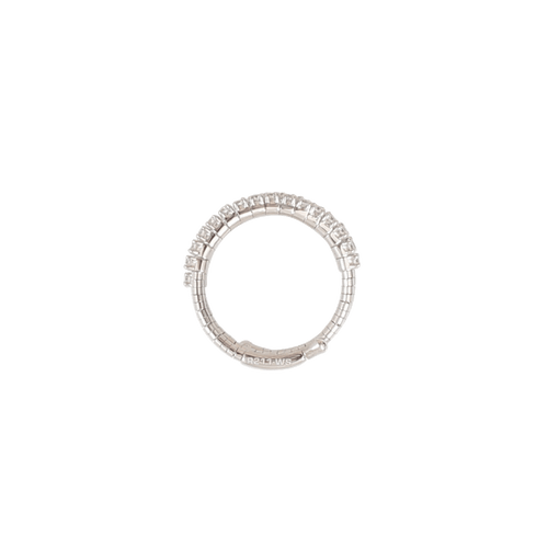MATTIA CIELO JEWELRYFINE JEWELRING WHTGOLD / SML Rugiada Diamond Two Wrap Ring