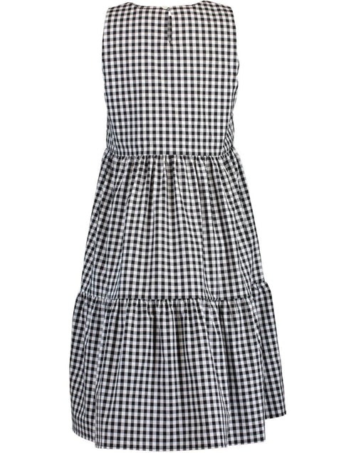 MDS STRIPES CLOTHINGDRESSCASUAL Sleeveless Peasant Dress
