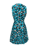 MICHAEL KORS COLLECTION CLOTHINGDRESSCASUAL Bell Leopard Print Dress