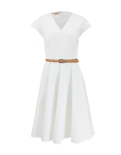 MICHAEL KORS COLLECTION CLOTHINGDRESSCASUAL Circle Dress With Belt