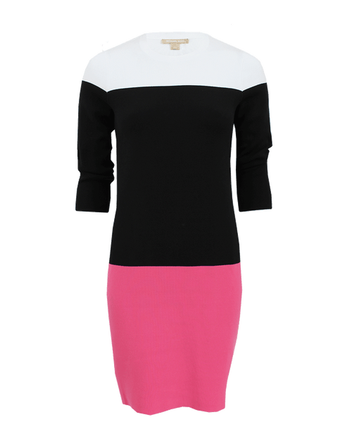 MICHAEL KORS COLLECTION CLOTHINGDRESSCASUAL Color Block Crew Dress